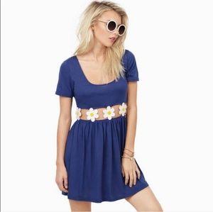 Tobi Desert Rain Daisy Cutout Dress
